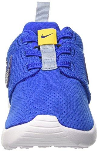 Nike Roshe One (Tdv), Zapatos de Primeros Pasos para Bebés Negro / Azul (Hypr Cblt / Dp Ryl Bl-Vrsty Mz-B)