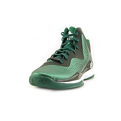 4e57064c8374 Adidas D Rose 773 III Mens Basketball Shoe 10 Green-Black-White