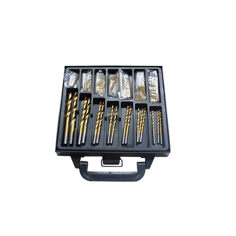 99PCS 1.5-10MM High Speed Steel Multicolour Engraving Micro Drill Bits Sets by Wanpako
