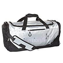 Ivation Sports Gym Duffel Bag - 100% Water-Repellent Polyester - Ideal for Gym, Fitness, Camping, Track, Traveling & More