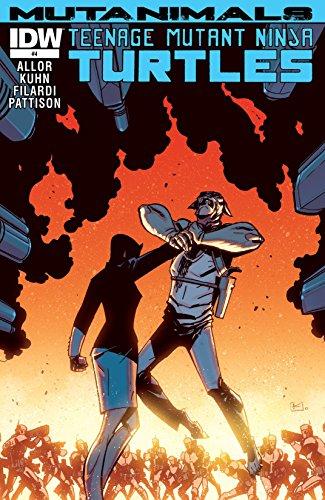 Amazon.com: Teenage Mutant Ninja Turtles: Mutanimals #4 (of ...