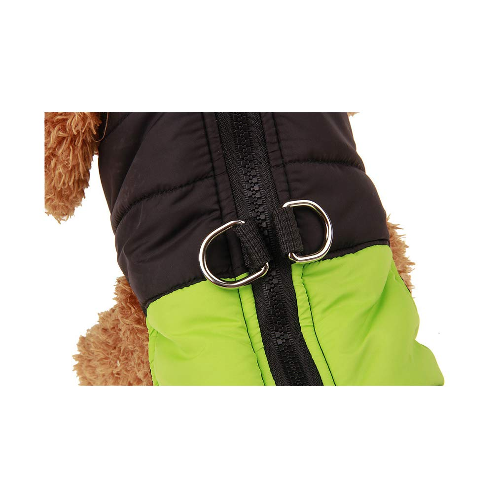 mama stadt Ropa para Mascotas Perros Invierno Chaleco Caliente Algod/ón Abrigo Chaqueta Impermeable Perro Peque/ño Mediano Ropa de Nieve Tama/ño XS-5XL
