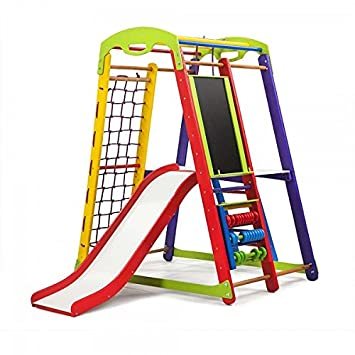 Activity Center Mit Rutsche Junior Color Plus 3 Schwedischen