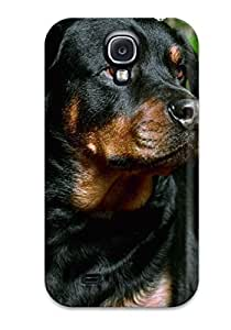 First-class Case Cover For Galaxy S4 Dual Protection Cover Dog Background