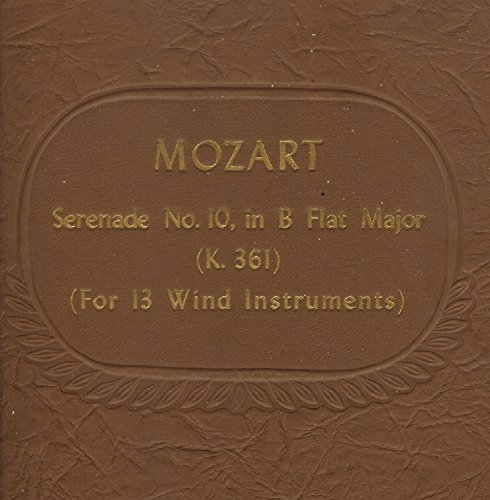 Price comparison product image Mozart - Serenade No. 10 in B-Flat, K. 361