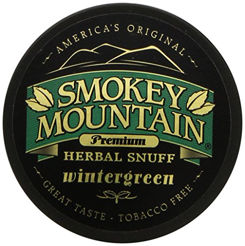 Smokey Mountain Snuff 10 Can Box (Wintergreen)