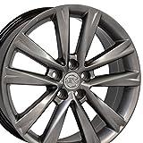 #3: 19x7.5 Wheel Fits Lexus, Toyota - RX 350 F Sport Style Hyper Silver Rim, Hollander 74279
