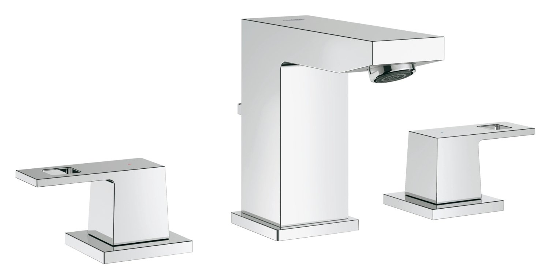 Grohe 20370000 Eurocube 2-handle Bathroom Faucet - 1.5 GPM - Bidet ...