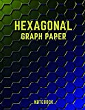 #8: Hexagonal Graph Paper Notebook: 150 Pages Hexagon Workbook for Organic Chemistry Drawings