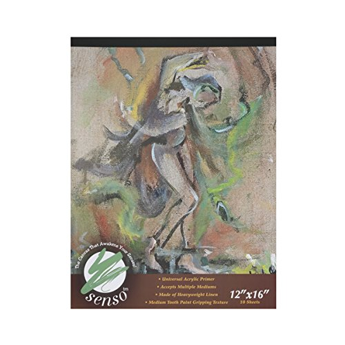 Senso Canvas Pad 12x16''