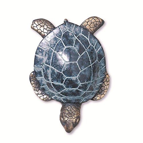 Brass Sea Turtle Beach Tiki Door Knocker