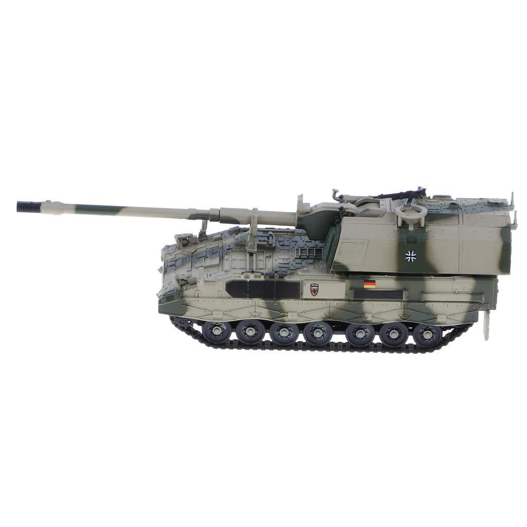 F Fityle 1//72 Diecast Tank #a Deutsche Panzerhaubitze 2000 Selbstfahrlafette Panzer Modell Spielzeug Dekoration