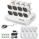 Cheap Zmodo Smart PoE Security System – 8 Channel NVR & 8 x 720p IP Cameras and No Hard Drive