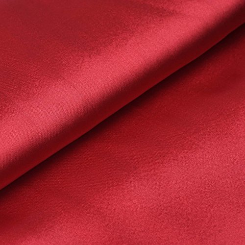 - BalsaCircle 54-Inch x 10 Yards Wine Satin Fabric by The Bolt - Wedding Party Decorations Sewing DIY Crafts Costumes