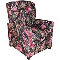 Dozydotes Child Recliner 4 Button Camouflage Pink - True Timber DZD11822