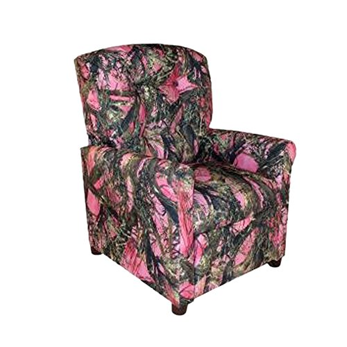 Dozydotes Child Recliner 4 Button Camouflage Pink - True Timber DZD11822 by Dozydotes