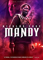 """The quiet life of devoted couple Red (Nicolas Cage, Leaving Las Vegas) and Mandy (Andrea Riseborough, Birdman) takes a dark and bizarre turn when a nightmarish cult and their maniacal leader (Linus Roache, """"Vikings"""") seek to possess M..."""
