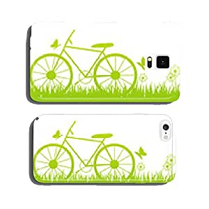 Green summer background with place for text cell phone cover case iPhone6 Plus