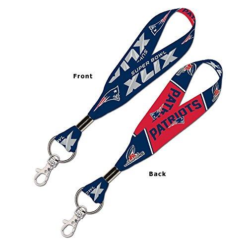 - AFC Champions New England Patriots Lanyard Key Strap 1
