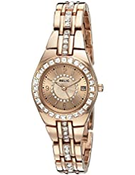 Relic Womens ZR12163 Queens Court Rose Gold Watch