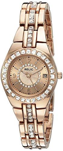 Relic Women's ZR12163 Queen's Court Rose Gold Watch