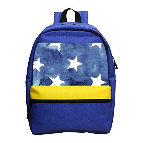 Blue Star Bean Bag Chair - 2