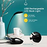 TOPELEK Book Light, 8 LED Reading Light with 3