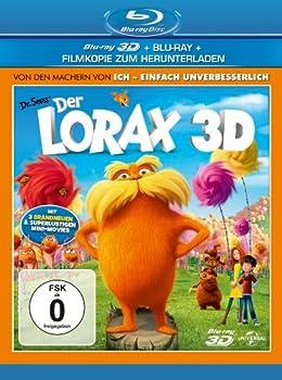 Der Lorax 3D Blu-ray