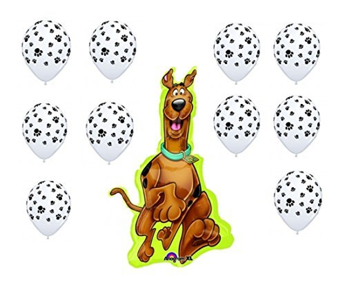 Scooby Doo Party Balloon Decoration Kit by Party Supplies for $<!--$14.80-->