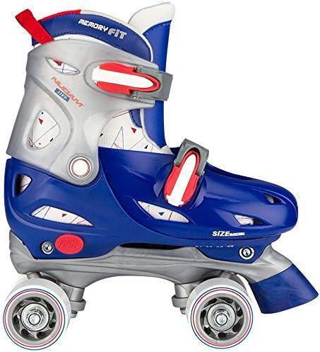 Nijdam Jungen Hardboot Rollerskates Junior Verstellbar