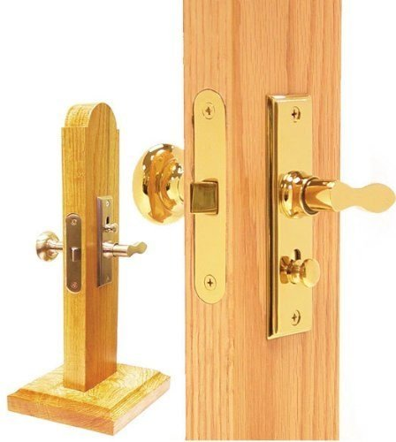 Deltana SDML334U3 Mortise Lock Screen Latch Polished -