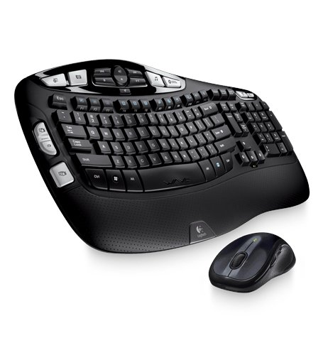 - Logitech Wireless Wave Combo MK550