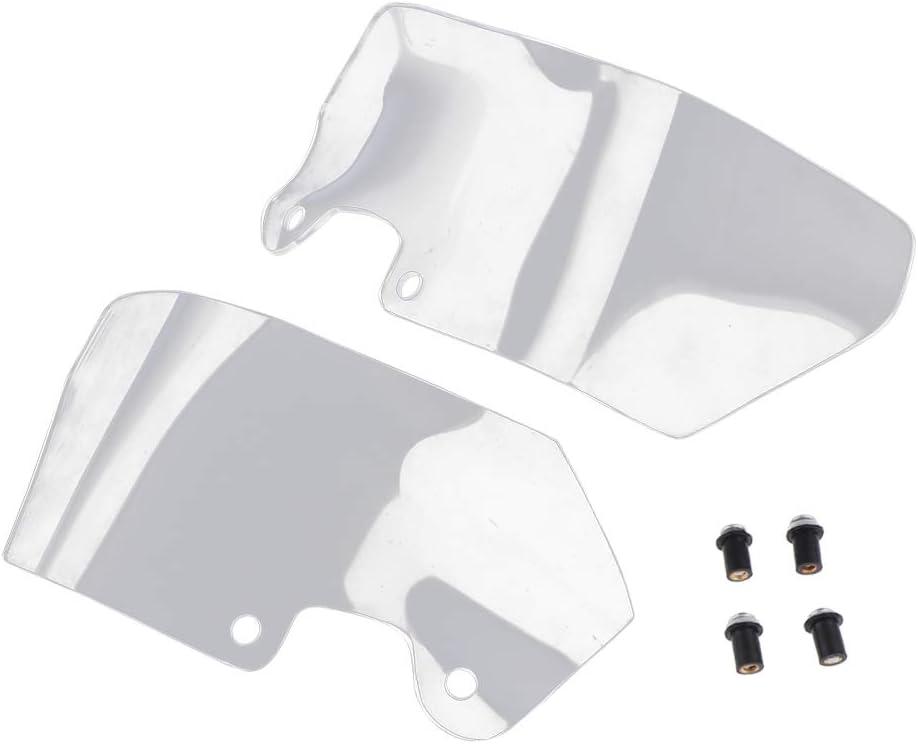 Black Homyl Motorcycle Left Right Side Wind Deflector Windscreen Spoiler Shield for BMW R1200GS