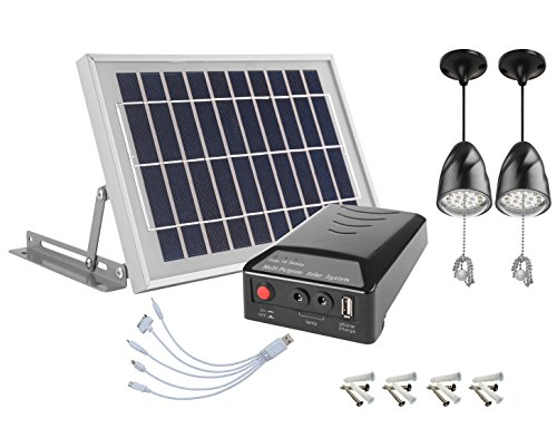 Solar Cell Led Lamp - 6
