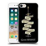 Official HBO Game Of Thrones Arya Quote Needle Graphics Hard Back Case for Apple iPhone 7 / iPhone 8