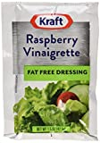 Kraft Fat Free Raspberry Vinaigrette Salad Dressing Packet, 1.5 oz. (Single serve salad dressings) Pack of 60