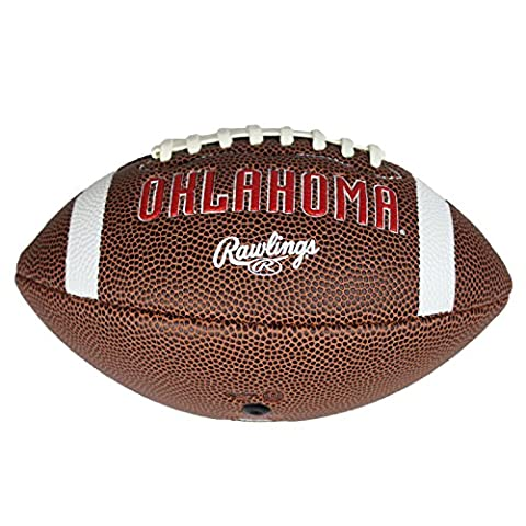 Oklahoma Sooners Official NCAA Youth Football by Licensed Products 043394 - Boomer Football