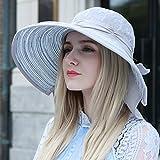 Large Sun Hat/Female Summer Sun UV Protection Sun Hat/Folding Hat
