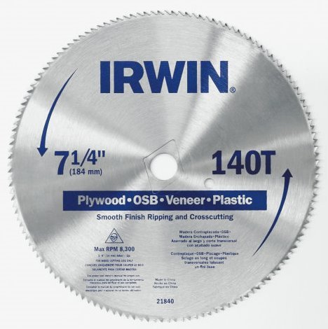 140 tooth saw blade - 5