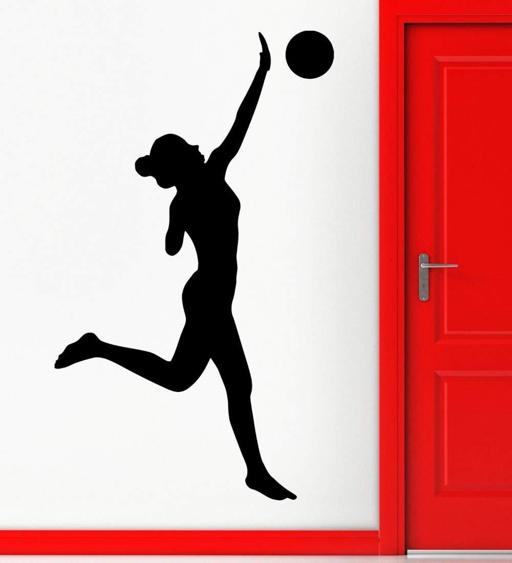 ziweipp Pegatinas de Pared Balón de Voleibol Juego de Deportes ...