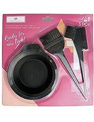ATB 3 Pcs Professional Salon Hair Coloring Dyeing Kit - Dye Brush & Comb/Mixing Bowl/Tint Tool