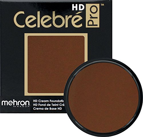 Mehron Makeup Celebre Pro-HD Cream Face & Body Makeup (.9 oz) (SABLE BROWN) ()