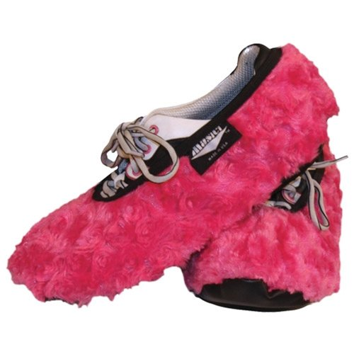 Brunswick Bowling Products Master Fuzzy Fuchsia Ladies Shoe Covers- SM/MD