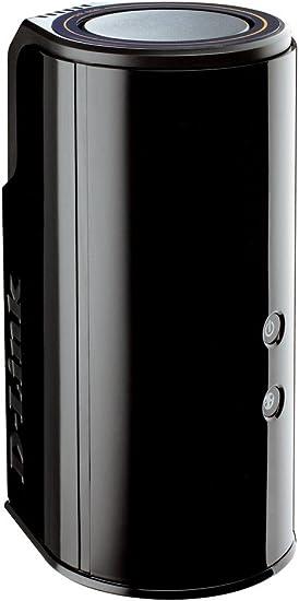 D-Link Wireless AC1750 - Cloud Router inalámbrico de Doble Banda (AC SmartBeam, 802.11ac, 1.3 Gbps2, Banda 2.4 GHz y 5 GHz), Negro