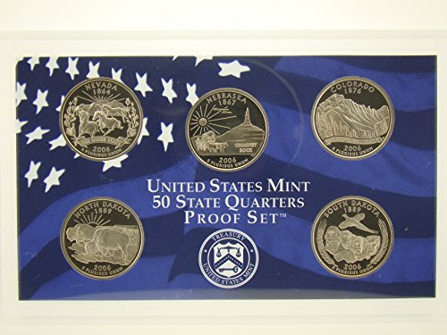 2006 S 50 State Quarters US Mint Uncirculated Set - 2006 50 Quarters State