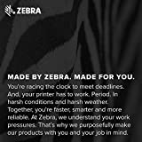 Zebra 2 x 1.25 in Thermal Transfer Polyester Labels