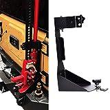 OMOTOR Off-Road Tailgate Hi-Lift Jack Mount Bracket fit for Jeep Wrangler JK 2007