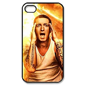 D-PAFD Customized Print Eminem Pattern Back Case for iPhone 4/4S