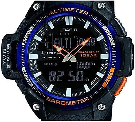 Casio Reloj de Pulsera SGW-450H-2BER: Amazon.es: Relojes