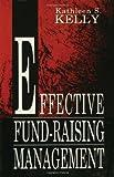 Effective Fund-Raising Management 9780805813210